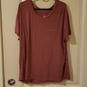 Mauve Pocket Tee